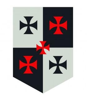Banner Quarterly Templars Crosses
