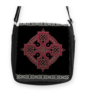 Black bag Trisqueta Celtic (26x26 cms.)