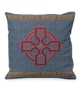 Cushion Trisquetas and Celtic Knots