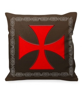 Cushion Maltese Cross Knights Templar
