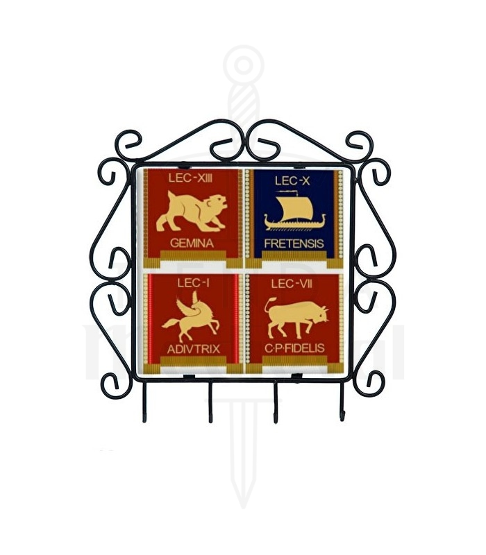 Hanger for keys with symbols of the Roman Legions