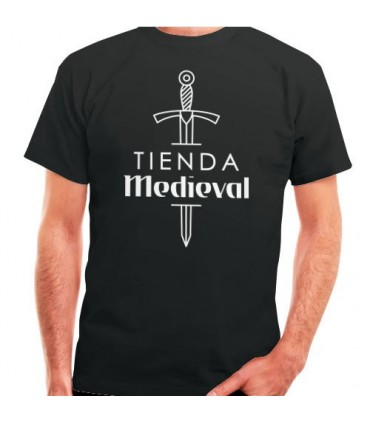 Black t-shirt Shop-Medieval