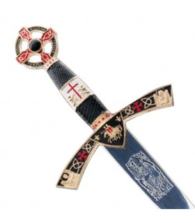Dagger Knight Templar decorated