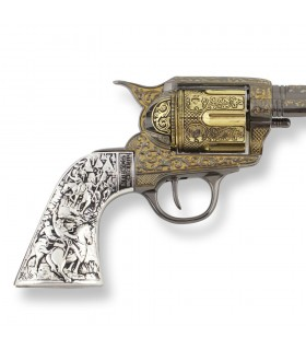 Revolver Colt 45 PeaceMaker long-handled metal, 27 cm.