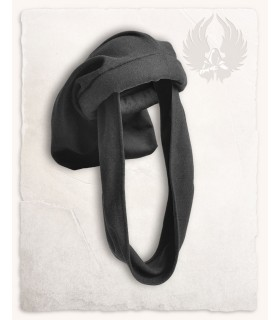 Hat Medieval-Rafael in black, Unisex