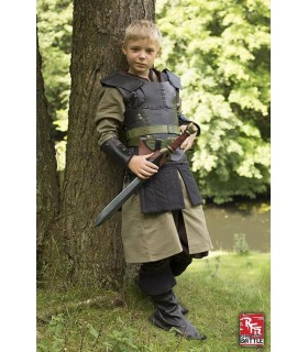 Leather armor for children