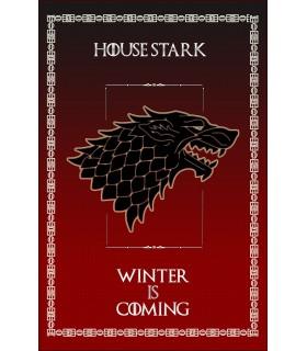 Banner Game of Thrones House Stark (75x115 cm.)
