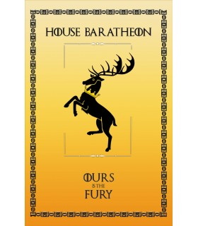 Banner Game of Thrones House Baratheon (75x115 cm.)