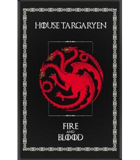 Banner Game of Thrones House Targaryen (75x115 cm.)