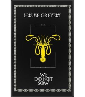 Banner Game of Thrones House GreyJoy (75x115 cm.)
