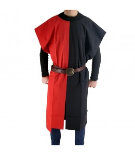 Tunic medieval bipart