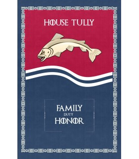 Banner Game of Thrones House Tully (75x115 cm.)