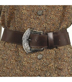 Belt Pirate, brown leather