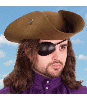 Patch pirate, right eye