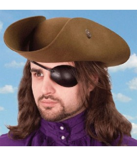 Patch pirate, left eye