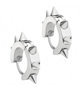 Earrings gothic silver