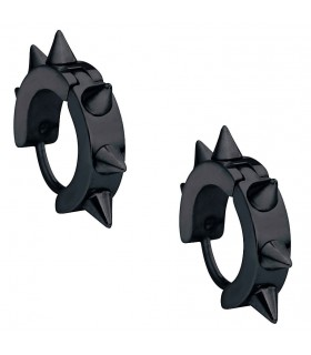 Outstanding gothic spiked black