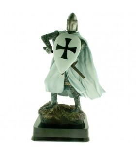 Miniature Knight Warrior Teutonic Shield, 23 cms.