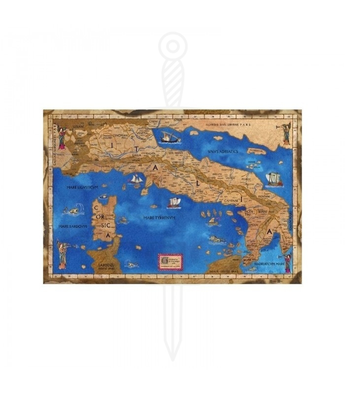 Medieval Map Of Italy.Map Medieval Italy Posters Posters Decor Medieval Shop