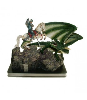 Figure of Saint George and the Dragon