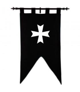 Banner Knights Hospitaller (105 x 55 cms.)