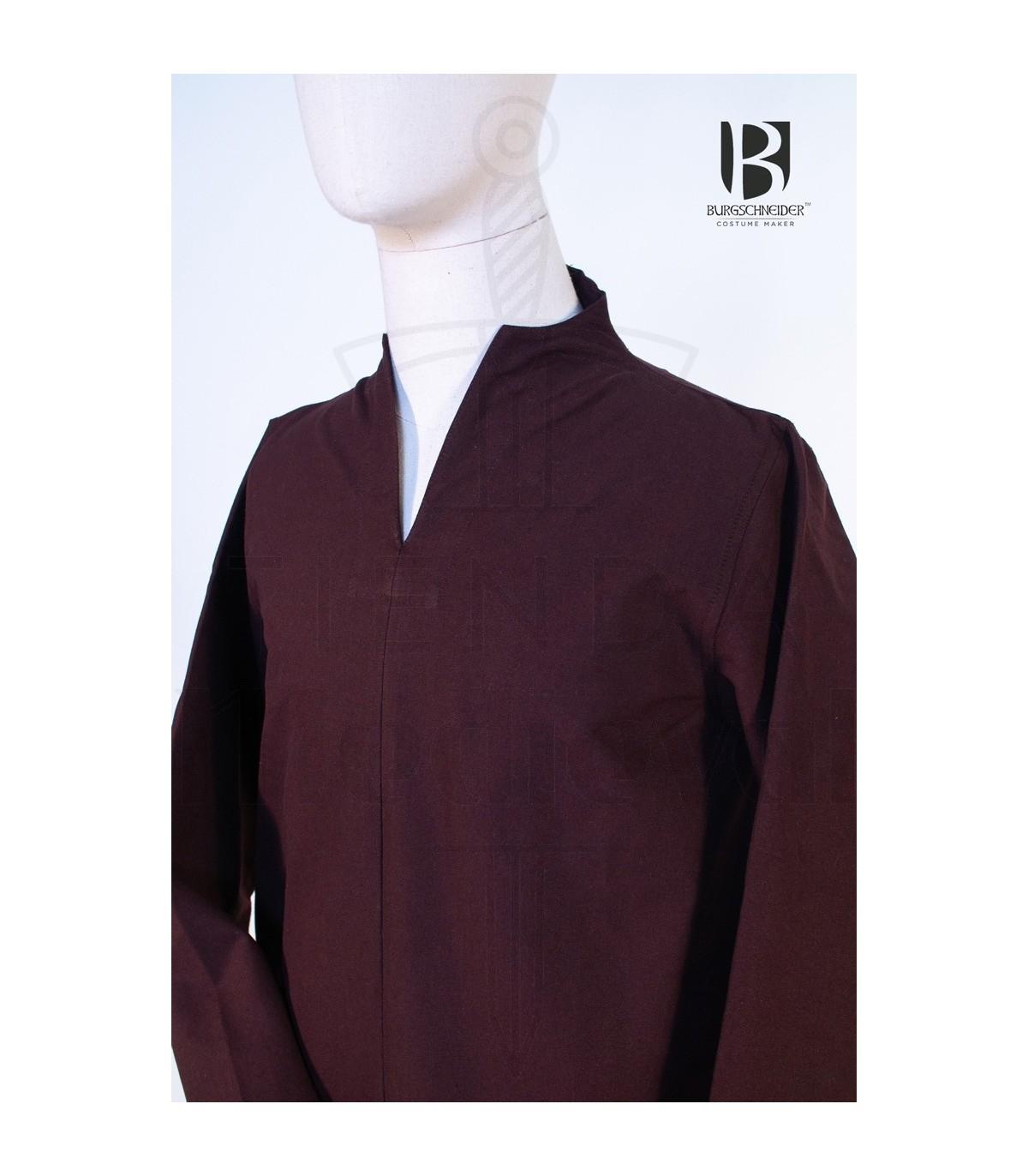 b187e0bd01249 Tunic medieval short Ekwin, brown. Tunics - Costumes man - Garments.