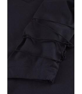 Blouse medieval Aila, black