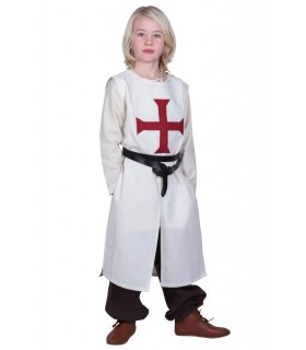 Tabard child Templar, natural white