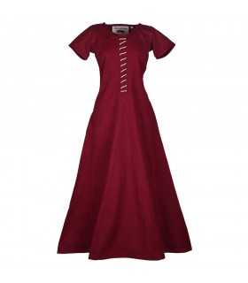 Dress medieval short sleeve, Ava