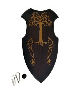 Swords hanging decorated table (22x42 cm.)