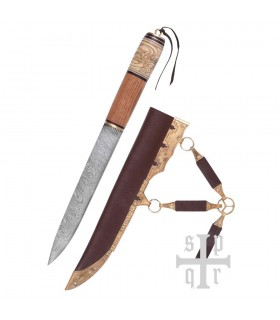 Knife Viking, Damascus Steel