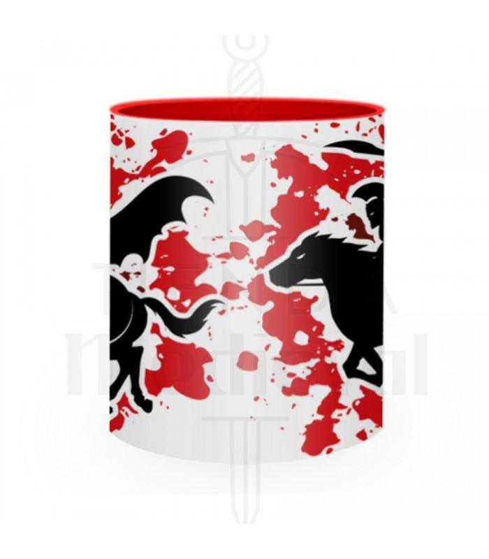 Ceramic mug Fight Spartan