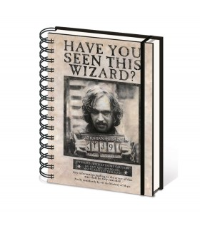 Notepad Sirius Black, Harry Potter