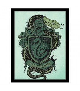 Stamped Coat of arms of Slytherin, Harry Potter