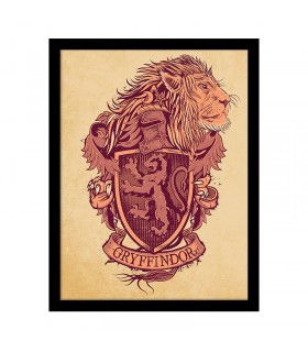 Stamped Coat of arms of Gryffindor, Harry Potter
