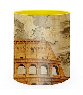 Ceramic mug Roman Coliseum