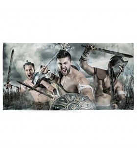 Bath towel fight of Spartans (various sizes)