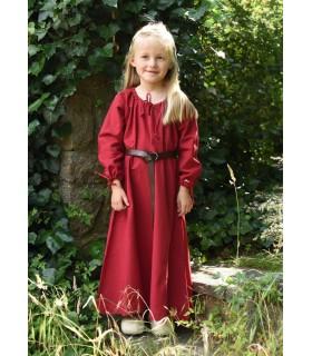 Dress viking red Ana, girl