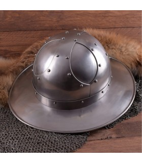 Helmet Kettle Battle-Ready, steel, 2 mm.