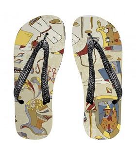 Flip flops summer Medieval