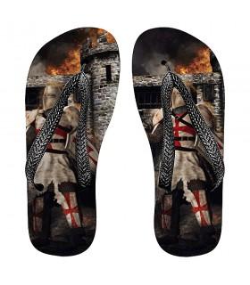 Flip flops summer Knight Templar