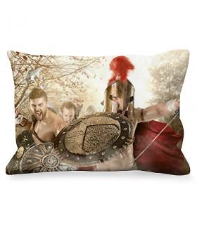 Cushion Rectangular Fight Spartans