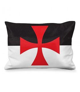 Cushion Rectangular Maltese Cross of the knights Templar