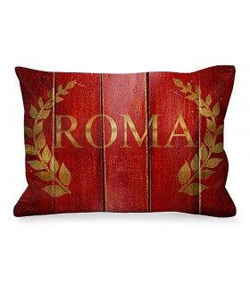 Cushion Rectangular Ancient Rome