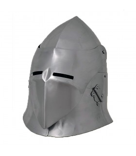 Helmet Sugarloaf with visor, steel 1.6 mm
