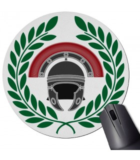 Roman Centurion Round Mouse Pad