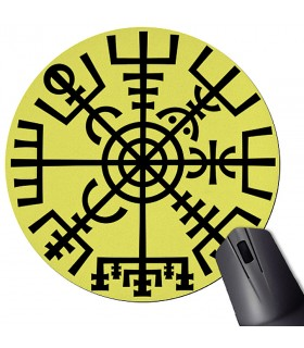 Mouse Mat Mouse Round Rune Viking