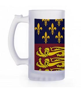 Beer mug Medieval, crystal translucent