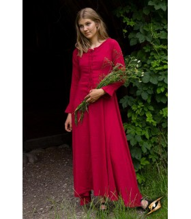Inner tunic Isabel, dark red