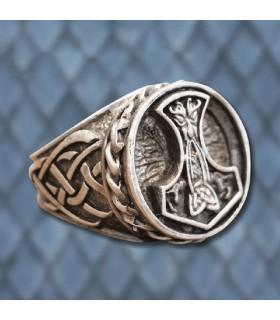 Ring Viking Thor's Hammer